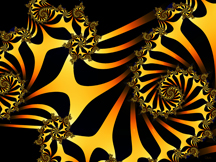 Golden Ladder, Fractal Art